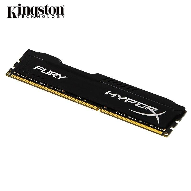 Kingston HyperX Fury DDR3 1333MHz 1600MHz 1866MHz RAM Memory DDR3 8GB 4GB Memoria RAM  DIMM Intel Gaming Memory For Desktop PC3 3