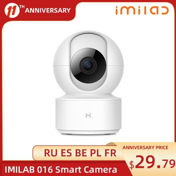 IMILAB 016 kamera Mihome kamera IP kamera do domowego systemu alarmowego kamera WiFi 1080P kamera nadzór zewnętrzny kamera kamera do monitorowania dzieci tanie i dobre opinie XIAOMI 360 x 180° O 2MP CN (pochodzenie) 1080 p (full hd) Karta SD 108*75*75mm 237g 128G CMSXJ16A Pojedynczy obiektyw Nie ma stabilizacji obrazu