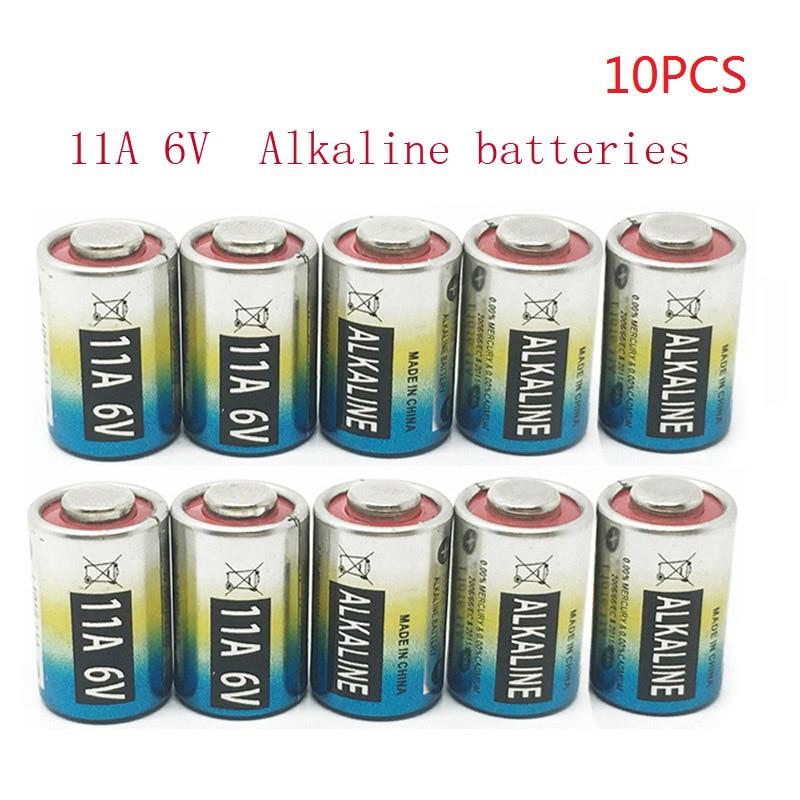 10 個 11A 6 1.4v 一次乾電池 L101 アルカリバッテリーリモートコントロールカーのおもちゃ時計電卓