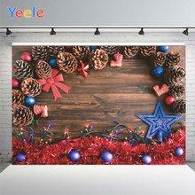 Фон для фотосъемки yeele с красными синими шариками украшение