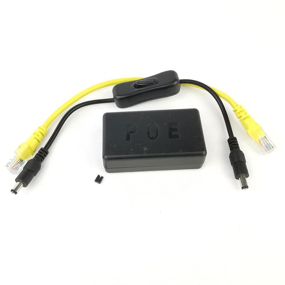 DSLRKIT Jetson Nano 5V 4A Active PoE Splitter Power Button Gigabit Power Over Ethernet