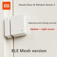 Window-Sensor Xiaomi Mijia Smart-Door Bluetooth Reminder 2 Records Light-Detection Unclosed
