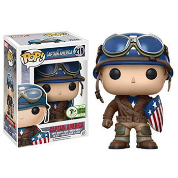 FUNKO Pop Marvel CAPTAIN AMERICA Super Hero Limited Model Figure Brinquedo Collectible Model Doll Toy Action Figures Toys F59 marvel universe hero pa change peter jackson s king wolf joint diy do model doll goods of for display rather for toys gift