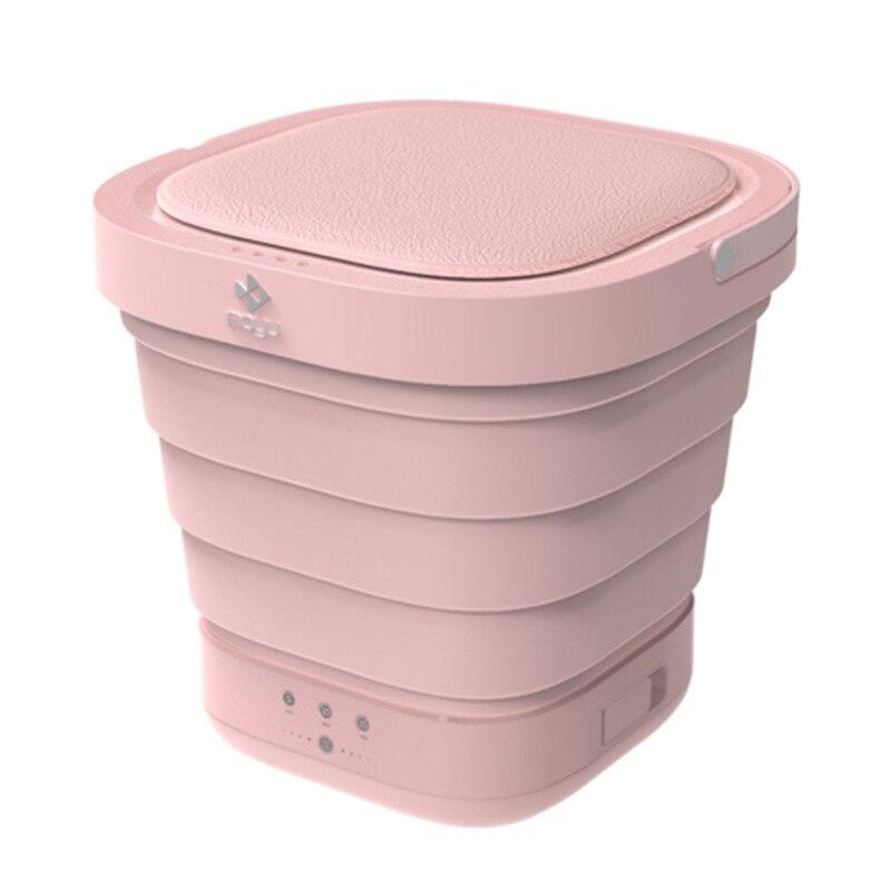 Travel Portable Mini Folding Bucket Washing Machine Automatic Small Household Underwear Washer And Dryer Laundry Machine