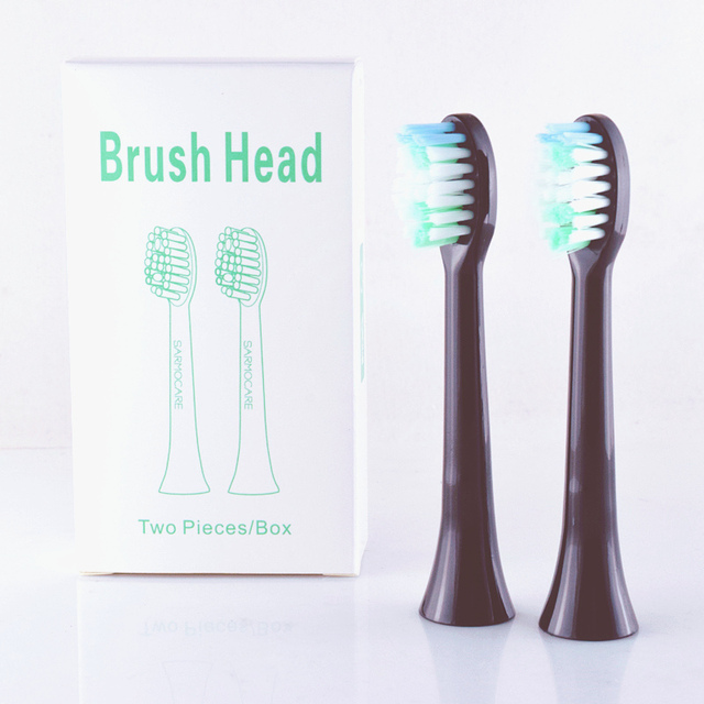 Cabeçote de escova de dentes sarmocare s100/200, 6 peças, ultra sônica, elétrica, fit digoo DG YS11, sem cabeça navio