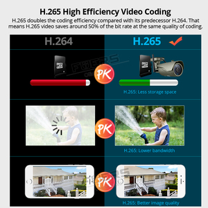 Image 4 - FUERS WIFI IP Camera FHD 3MP CCTV Camera H.265 P2P IP67 Waterproof Outdoor Indoor Motion Detection Metal Camera Onvif AP Hotspot