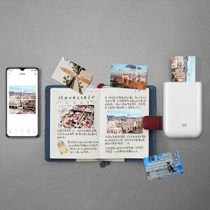 Image 4 - Carta fotografica adesiva con stampa tascabile Xiaomi 50 fogli imaging monouso senza inchiostro stampa carta fotografica di alta qualità 3 pollici