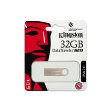 Pendrive Kingston – DTSE9H, 32 go USB 2.0, métal argenté