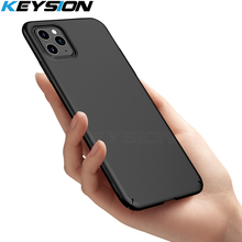KEYSION Micro Matte Case for iPhone 11 Pro Max Ultra Slim Phone Back Cover Xs Xr 6s 8 7 Plus max
