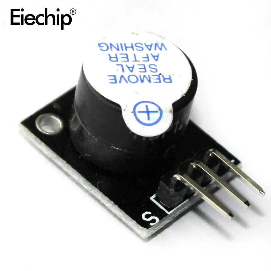 5pcs/lot KY-012 Active Buzzer Alarm Sensor Module 5V Active Speaker Buzzer Module For Arduino UNO R3 5 V Buzzers Diy Electronic