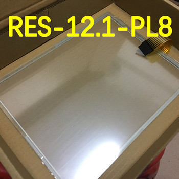 New RES-12.1-PL8 95419/E188103 12.1inch For 8 Wires 3M MicroTouch Industrial Resistance Touch Screen 267*204mm