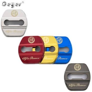 Ceeyes-4 uds. De accesorios para coche, cubierta para cierre de puerta de...