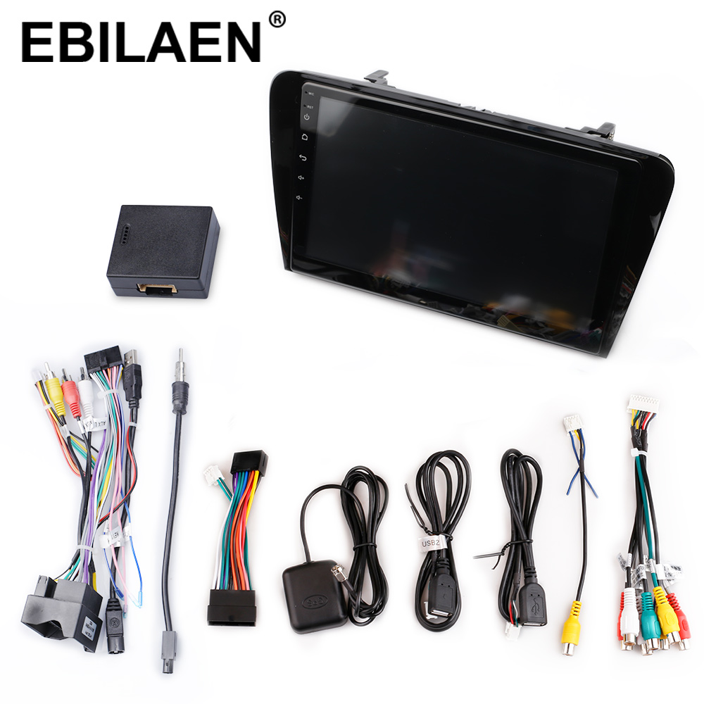 EBILAEN Car DVD Multimedia Player For Skoda Octavia A7 III 3 2014 2018 2din Android 9.0 Radio Auto Navigation GPS Rear Camera - 5