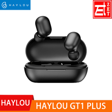 Haylou GT1 Plus APTX 3D Real Sound Wireless Headphones, Touch Countrl DSP Noise Cancelling Bluetooth Earphones QCC 3020 Chip(China)