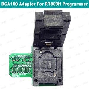Image 1 - BGA100 מיוחד EMMC מתאם עבור RT809H מתכנת RT BGA100 01 שקע מקורי חדש משלוח חינם