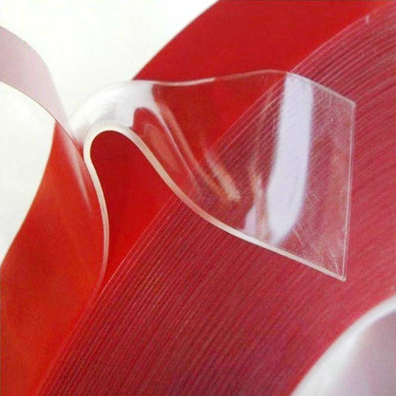 2019 doble cara longitud 5M ancho 5-35MM fuerte transparente acrílico adhesivo espuma Tapedouble adhesivo de dos caras cinta