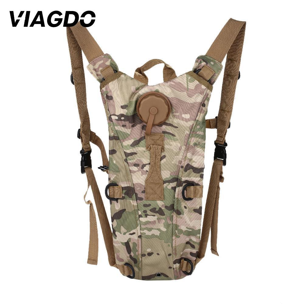 Tactical Backpack Outdoor Waterproof Oxford Light Weight Military Water Bag For Cycling Hunting Hiking Climbing Riding Climbing