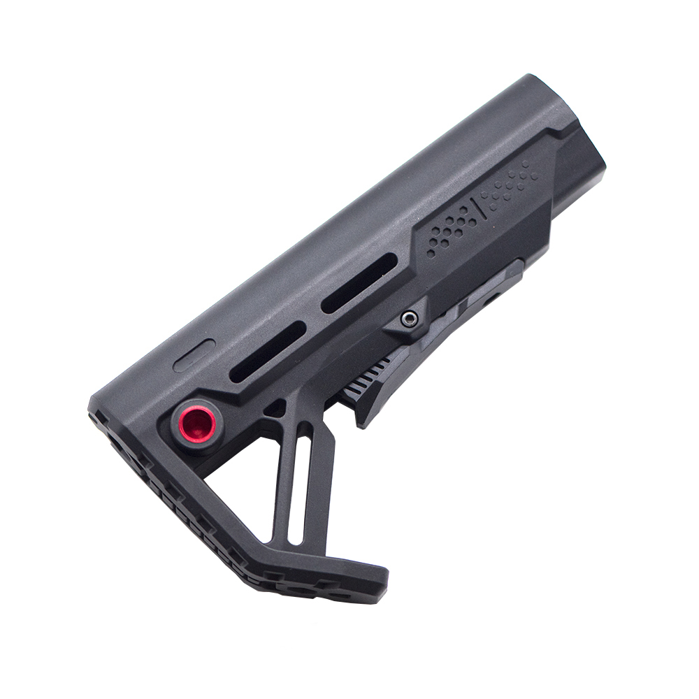 High Quality Tactical Nylon Stock Gel Blaster For Gel Blaster Paintballguns Paintball Accessories Ar15/m4 Mini Toy Accessories