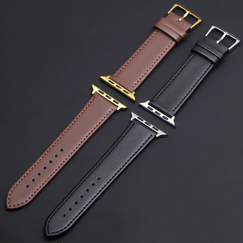 newest leather loop Suitable for Apple-Watch Band series 1 2 3 4 5 Suitable for iWatch-Strap 42MM 38MM 40mm 44mm linkseries 5