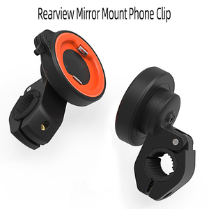 Image 5 - Universal mount Handlebar Rear view Mirror Mount Clip Bracket for Mobile Cell Phone,Motorcycle Bicycle Electric vehicles holder