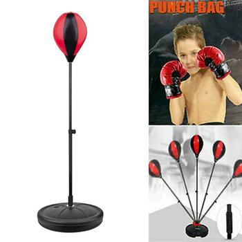 Boxing Punch Pear Speed Ball Relaxed Boxing Punching Bag Speed Bag Gloves