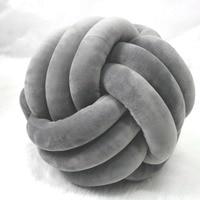 Bedclothes Woven Knot Ball Pillow Household Items Decorative Pillows Cojines Decorativos Para Sofa