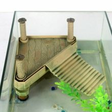 Черепаха рептилия питомец плавающий остров лягушка водная альпинистская греющая платформа Декор аквариумный танк аксессуар