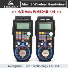 XHC CNC маховик беспроводной Mach3 MPG подвесной маховик для фрезерного станка 4 6 оси MPG WHB04B-4 WHB04B-6
