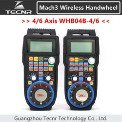 XHC CNC volantino wireless Mach3 MPG ciondolo volantino per la fresatura macchina 4 6 assi MPG WHB04B-4 WHB04B-6