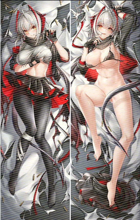 Original W arknights Dakimakura sexy anime girl body pillow cover pillowcase