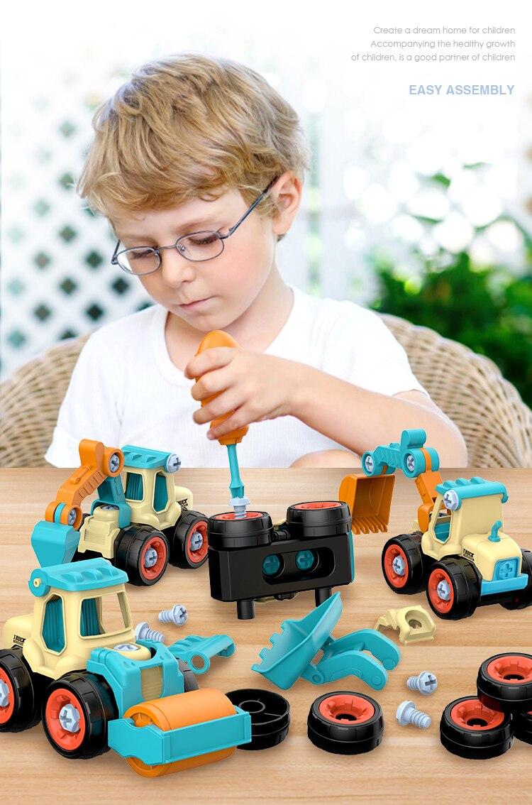 DIY Truck Engineering Toys 3