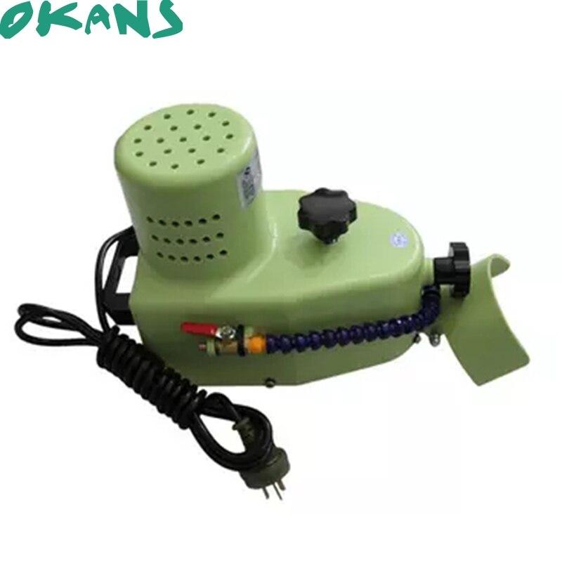 Petite Machine de bordure en verre électrique, bord biseauté rond droit, bordure de réservoir de poisson, meuleuse Portable 220V 800W