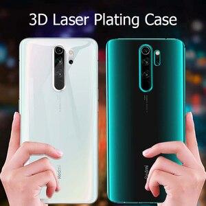 Image 5 - For Xiaomi Redmi Note 8 Pro Case Laser Plating Luxury TPU Soft Clear Cover Xiomi Xiaomi Mi Redmi Note 8 T 8T Note8 8A Phone Case