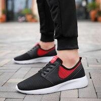 2019 Men Shoes Summer Mesh Breathable shoe Walking Footwear Lightweight Man For Sneakers running male Big size 50 Male