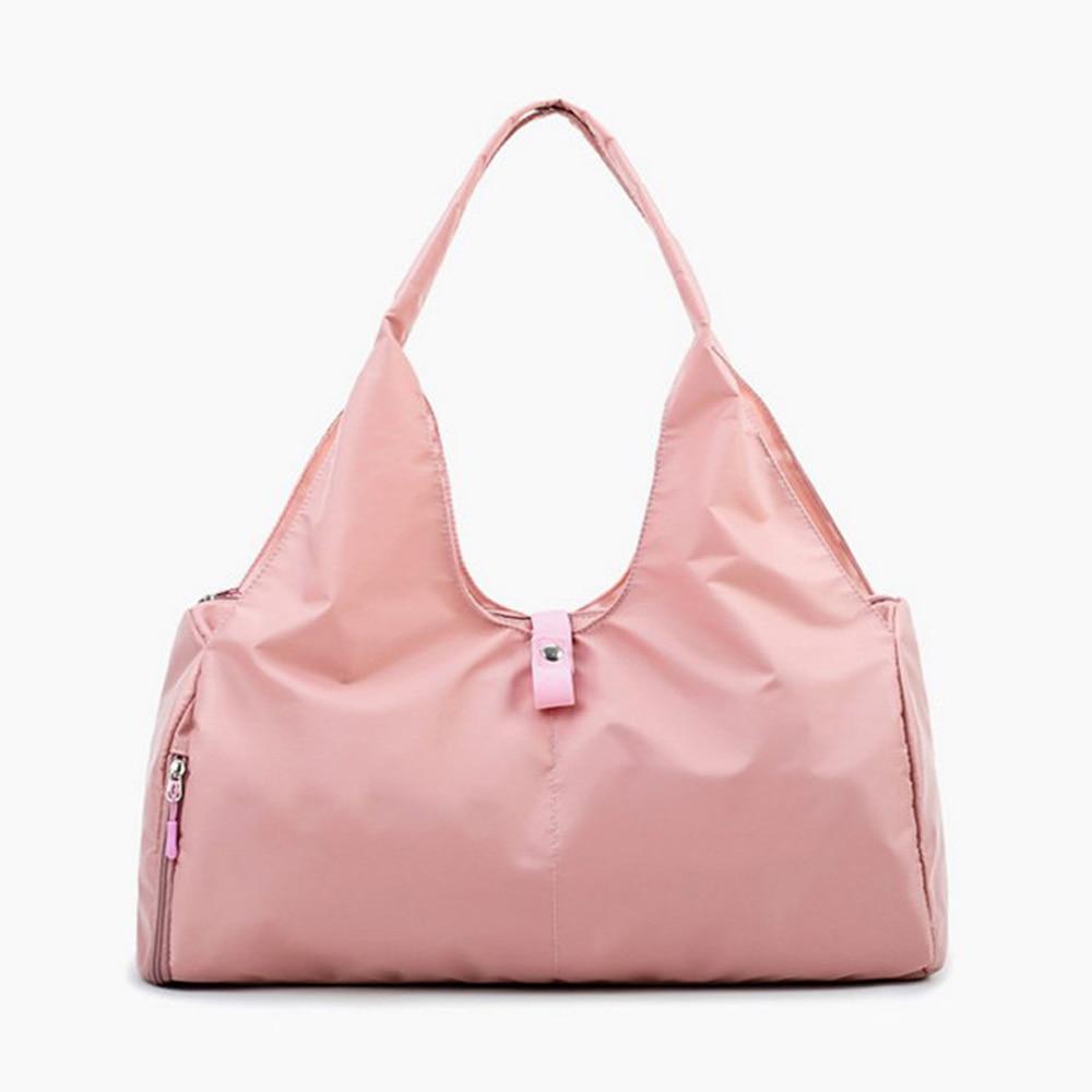 New Travel Shoulder Bag Oxford Cloth Large-Capacity Women Yoga Bag Short-Distance Travel Simple Lightweight Portable Luggage Bag