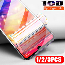 3PCS 10D Hydrogel Film For Xiaomi Redmi Note 7 8 6 K20 Pro Screen Protector Full Cover 6a Soft Protective