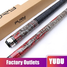 New FURY Billiard Pool Cues 11.75/12.75mm Tips 1/2 Jointed Pool Stick Cue High Quality Professional Maple Durable  Billar 2019 high quality maple billiard cues shaft 13mm 11 5mm tips 1 2 split pool billiards cue stick pa281