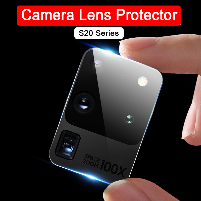 2 Pcs Camera Lens Tempered Glass For Samsung Galaxy S20 Ultra Protector On S20 Plus S 20 + S20plus S20ultra 20S Protective Film