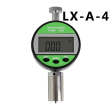 Digital-Hardness-Meter Shore for Soft-Rubber Wax Display
