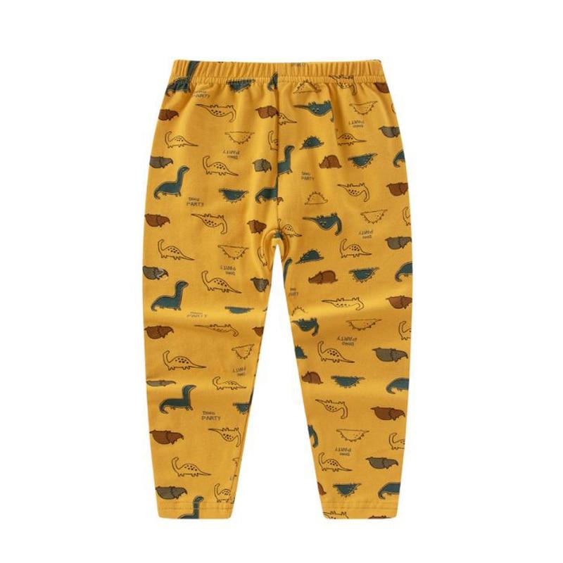 Baby Girl Legging Pants Trouser Cotton Printed Pantyhose Autumn Clothing Toddler Boy Night Gowns / Pajamas Cartoon Casual Pants 1