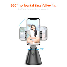 360 Rotation Gimbal Portable Quick Release Lightweight Face Tracking Phone Holder for Photo Vlog Live Video Record