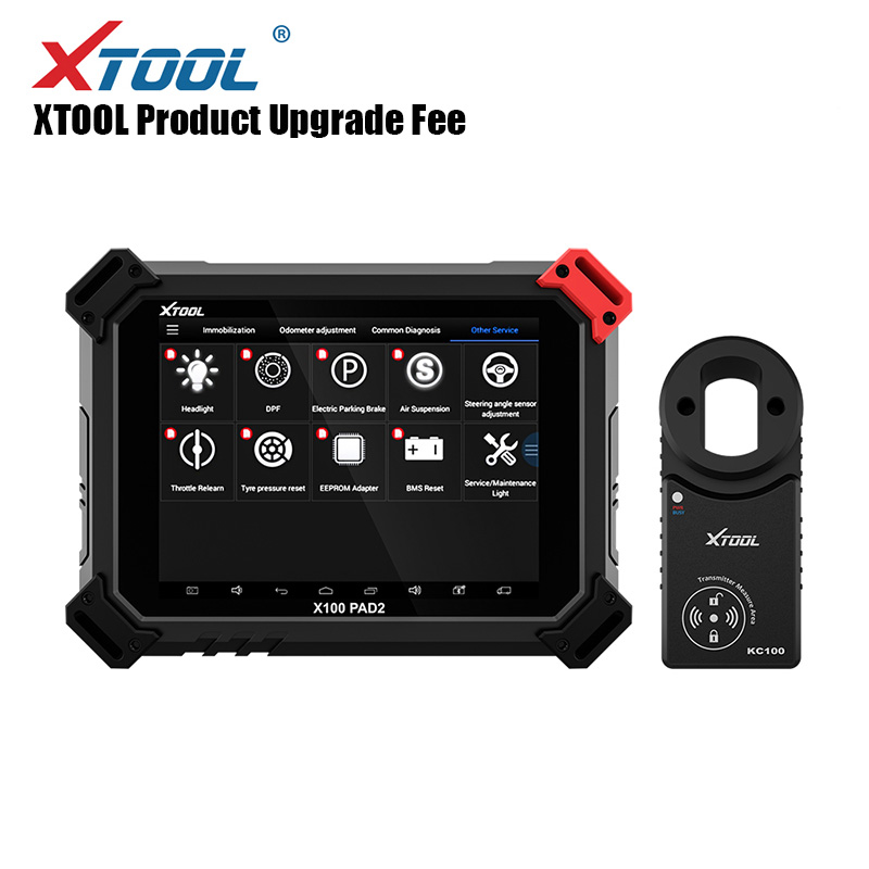 Original XTOOL Upgrade Fee Update Fee For X100 PAD / X100 PAD2 / X100 PAD2 PRO Upgrade Fee Update Fee For 1 Year Sending Online
