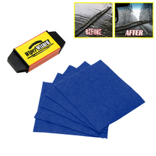 Car Wiper Cleaning Brush Wipe Repairer Windshield Wizard Blade Restorer with 5pcs Wipes CAR017