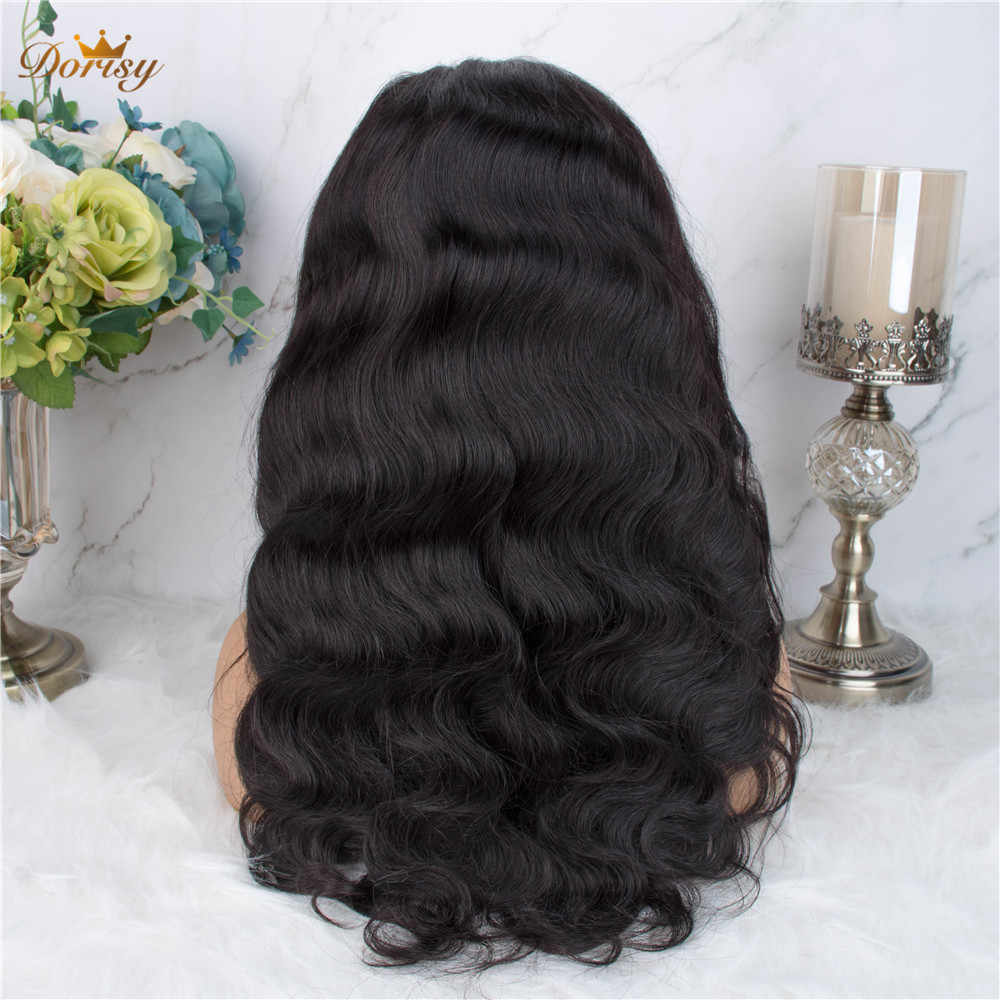 360 Lace Frontal Wig Body Wave Lace Frontal Human Hair Wigs Brazilian 360 Lace wig Pre Plucked With Baby Hair Non Remy