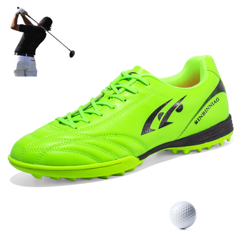 Golf Shoes Spikeless Mens Waterproof Outside Comfort Golf Sneakers Man Training Sports Shoes Boys Athletic Grass Walking Shoes