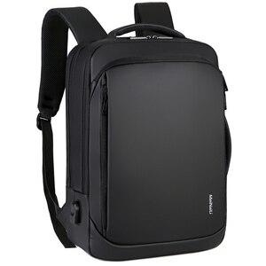 Рюкзаки для ноутбука, мужские рюкзаки, бизнес, ноутбук, Mochila, водонепроницаемый рюкзак, USB зарядка, сумки, дорожный рюкзак