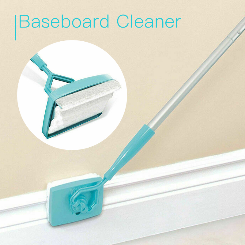Image 2 - Baseboard Buddy Cleaner Mop Extendable Microfiber Dust Room Household Cleaning-in Cleaning Brushes from Home & Garden