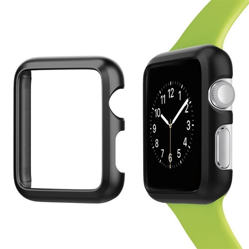 Metal cover case for apple watch <font><b>4</b></font> band 44mm 40mm iwatch band 42mm 38mm Aluminum Frame protective case <font><b>4</b></font> <font><b>3</b></font> <font><b>2</b></font> 1 watch accessories image