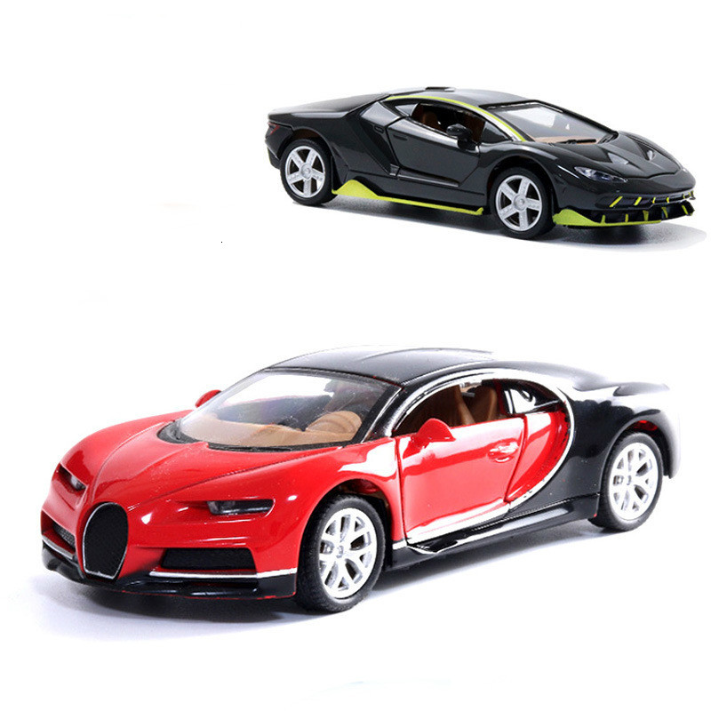 Alloy Car 1:32 Overtaking Model Toy Car Simulation Car Back To The To Decorate Children's Gifts