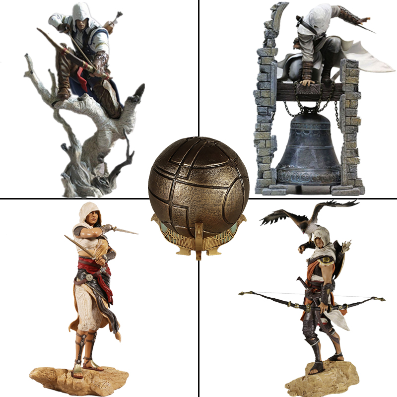 Creed Origins Altair The Legendary Conner Eden Bayek Aya Apple Of Eden Action Figure Model Toys Doll Christmas Gifts